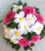 Цветник цветочная клумба из полимерной глины сказочные фантастические цветы купить в СПб украсить интерьер квартиры дизайн комнаты