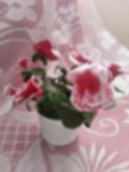 Горшочек с цветами из полмерной глины,украшение декор сувенир из полимерной глины,цветочный куст,цветочный букет,издлие декор украшени ручной работы, ручная работа из полимерной глины