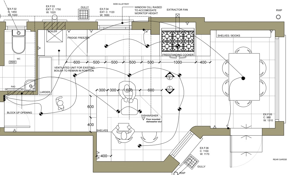 London, N19 | New kitchen layout