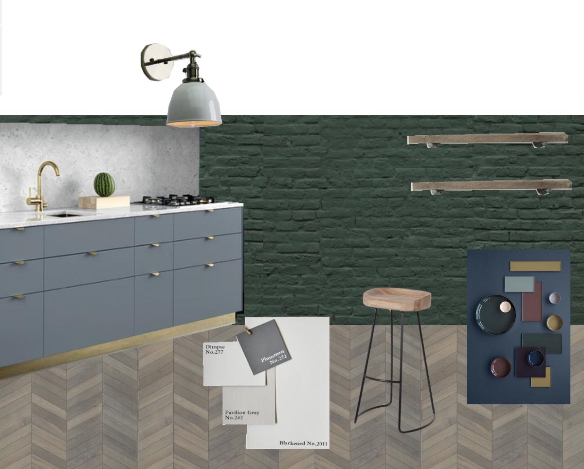 36. Moodboard kitchen