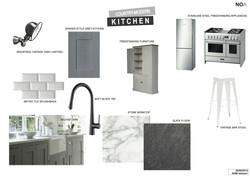 London, N19   Moodboard Kitchen
