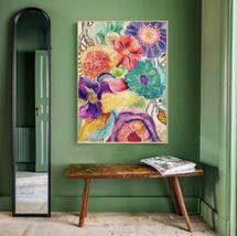 Abstract Watercolor Garden #1