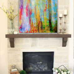 16 x 20 in acrylic on canvas, $400