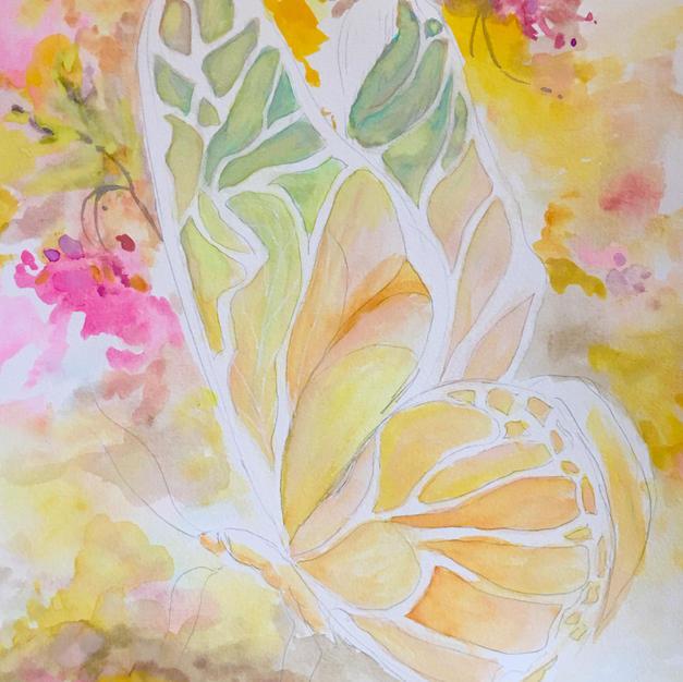 Butterfly (Watercolor)