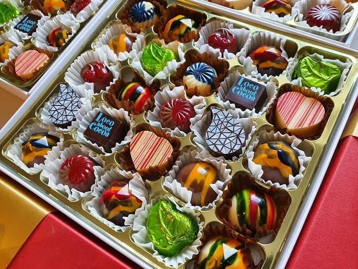 Box of 25 chocolates