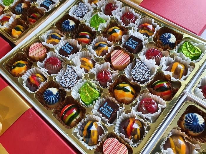 sharer box of 36 chocolates
