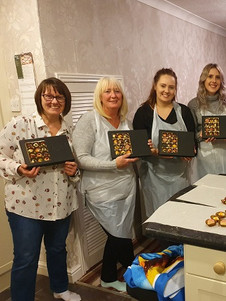 Chocolate workshop in Plymouth.