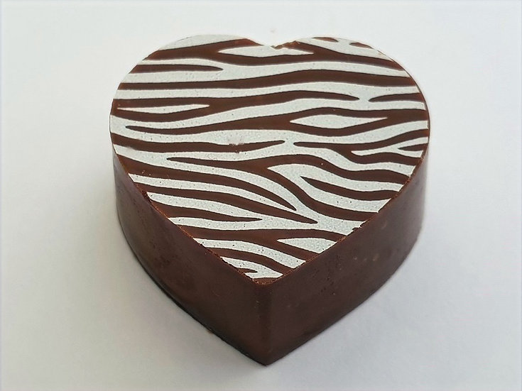Honeycomb enveloped in Dark chocolate.
