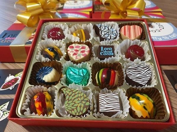 Signature Thank You Box of 16 Chocolates