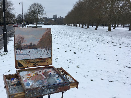 EFS 1161 'Windsor Castle in the snow' in