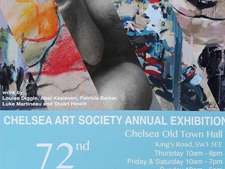 Inclusion in Chelsea Art Society Open Exhibition!