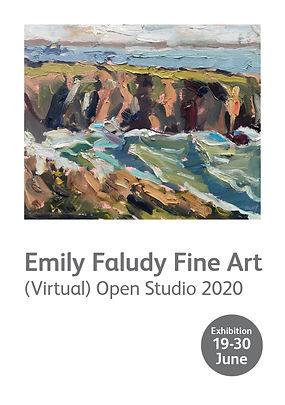 RBB11527 Emily Faludy Fine Art invitatio