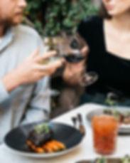Wine, food, cheese happy hour, date night