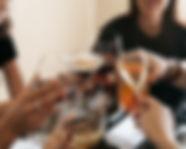 Happy hour, red wine,white wine, cocktails