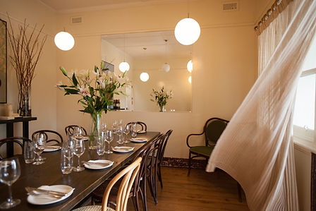 private dining room kew. private dining space. meeting room. dining rom.
