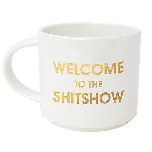 Welcome to the Shitshow Jumbo Stackable Mug