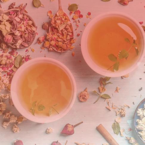 Chá para o parto