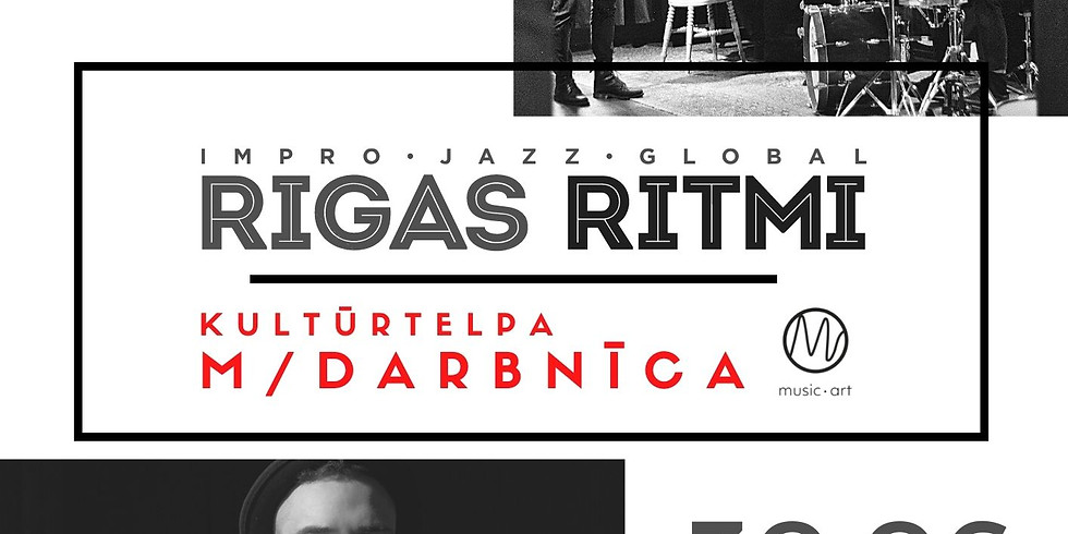 Rīgas Ritmi 2021 - M/Darbnīca - Rudolfa Macata kvartets