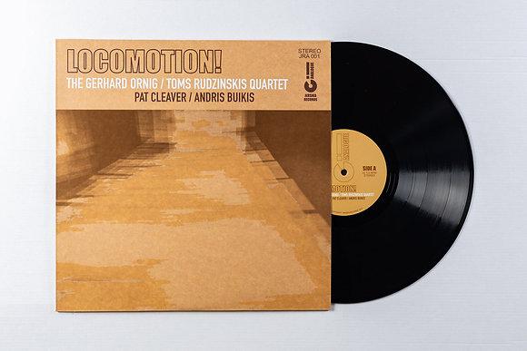 LOCOMOTION! by The Gerhard Ornig / Toms Rudzinskis Quartet