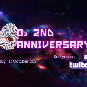 O₂ 2nd Year Anniversary