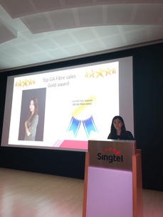 Singtel Awards Ceremony
