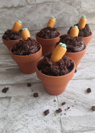Schokoladencake im Tontöpfli (Mind. 4 Stk.)