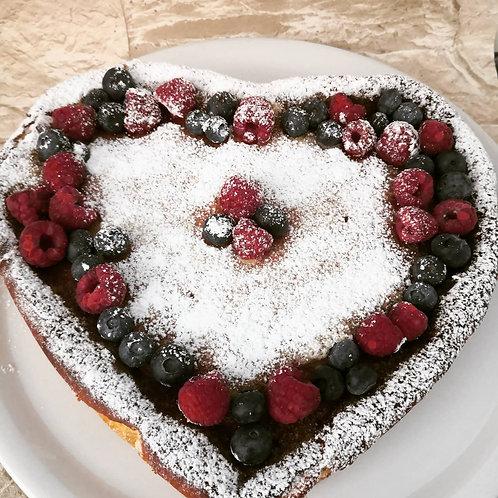 Herz Cheesecake