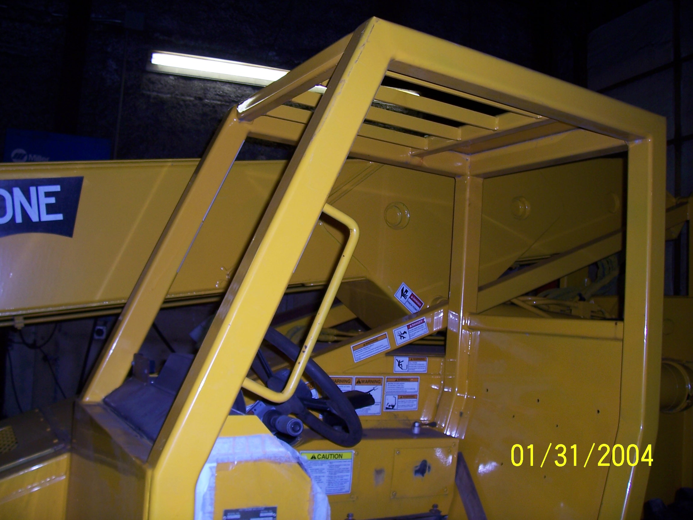 Loader that needed enclosure