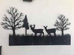 Deer Coat Rack