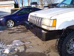 Front custom bumper