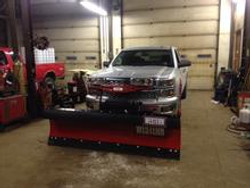 Completed Western plow installation
