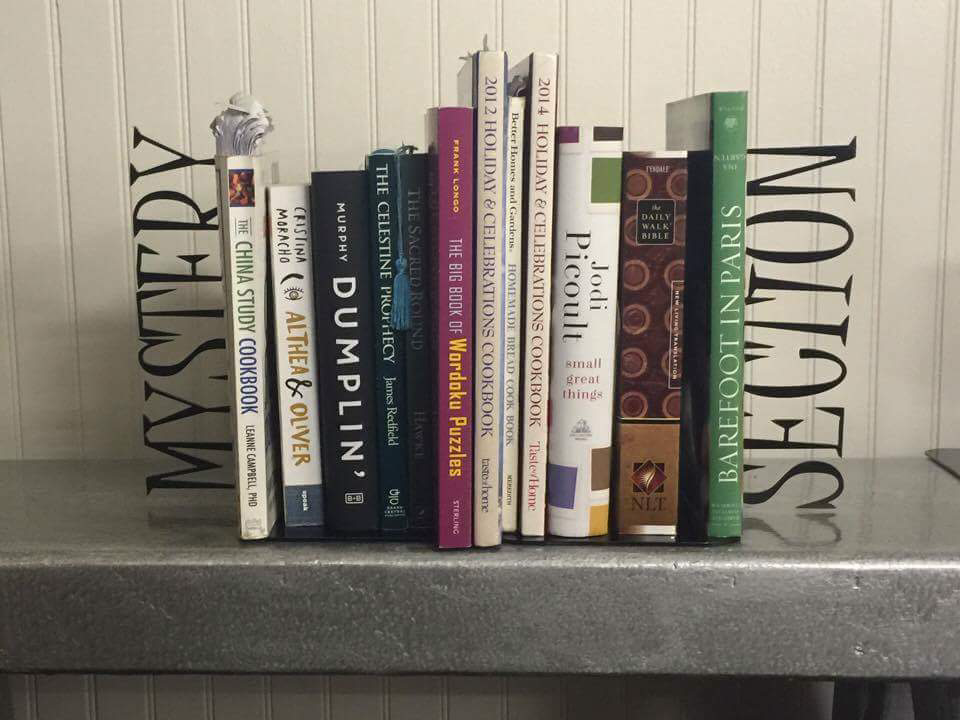 Mystery Section Book Ends