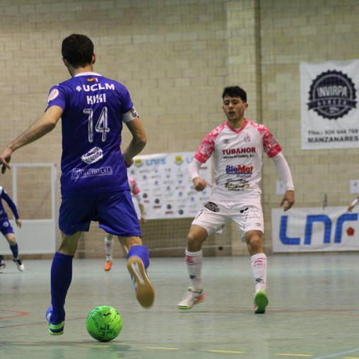 Derrota por la mínima en Manzanares (1-0)