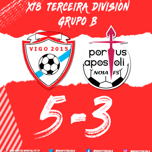 FILIAL | Freo á xeira en Vigo (5-3)