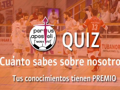 Puntuacións do segundo Quiz do Noia Portus Apostoli FS!
