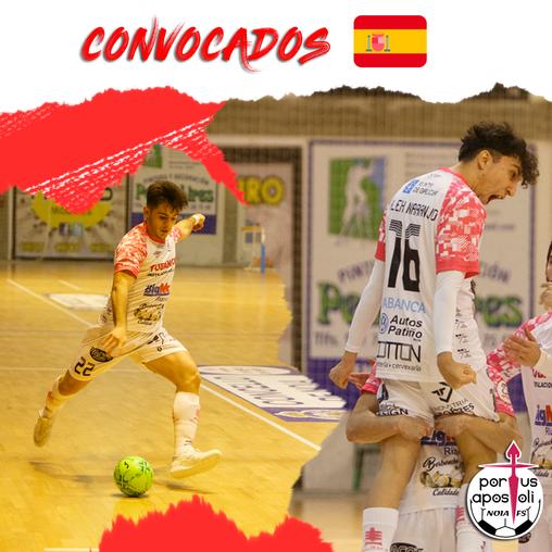 Rivera y Álex Naranjo repiten con la Sub-19 española
