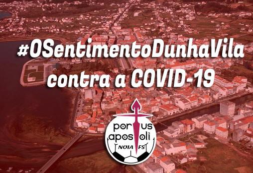#OSentimentoDunhaVila contra a COVID-19