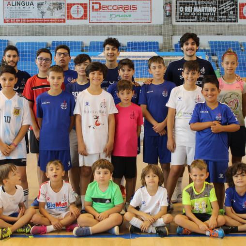 Satisfactoria primeira edición das Xornadas Futsal Base