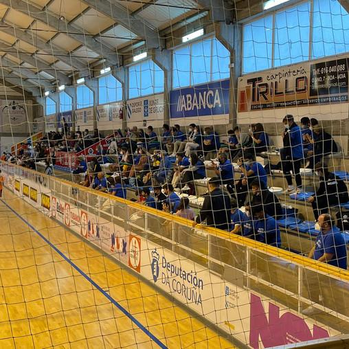 Noia finaliza con éxito a súa fin de semana como capital do fútbol sala galego