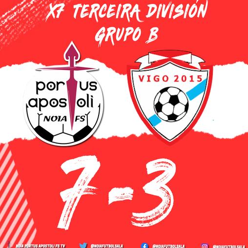 FILIAL | O filial golea ao Vigo 2015 (7-3)