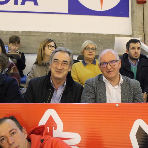 Javier Lozano presencia el Noia Portus Apostoli-Manzanares FS