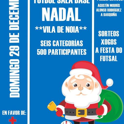 Regresa a cita anual co Torneo de Nadal Vila de Noia