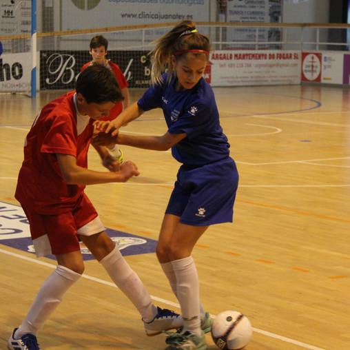 Antía Mayo participa no campionato galego infantil feminino de seleccións comarcais