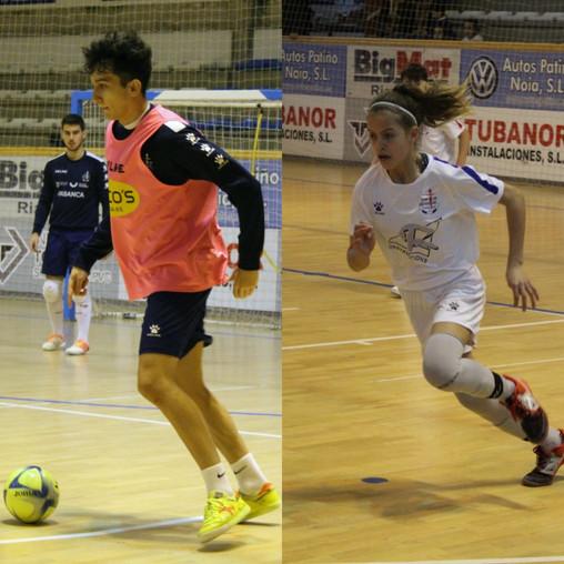 Álex Naranjo e Antía Mayo chamados pola selección galega