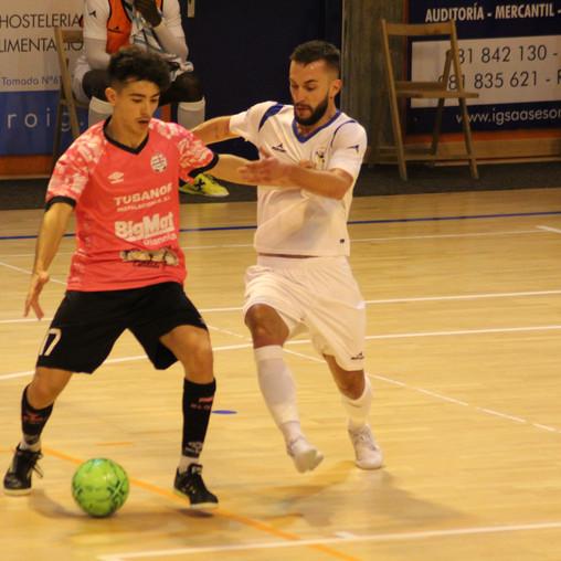 Noia Portus Apostoli FS y O Parrulo Ferrol empatan en un vibrante choque (1-1)