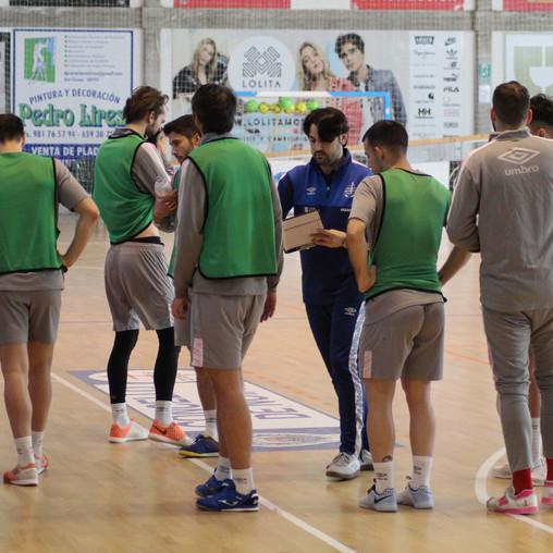 Barça B-Noia Portus Apostoli FS: aquí nadie se relaja