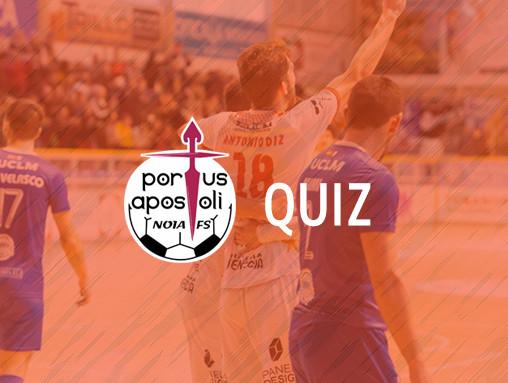 Consulta as túas puntuacións no Quiz do Noia Portus Apostoli FS!