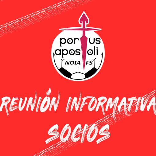 [PARA SOCIOS] Reunión informativa o 4 de maio