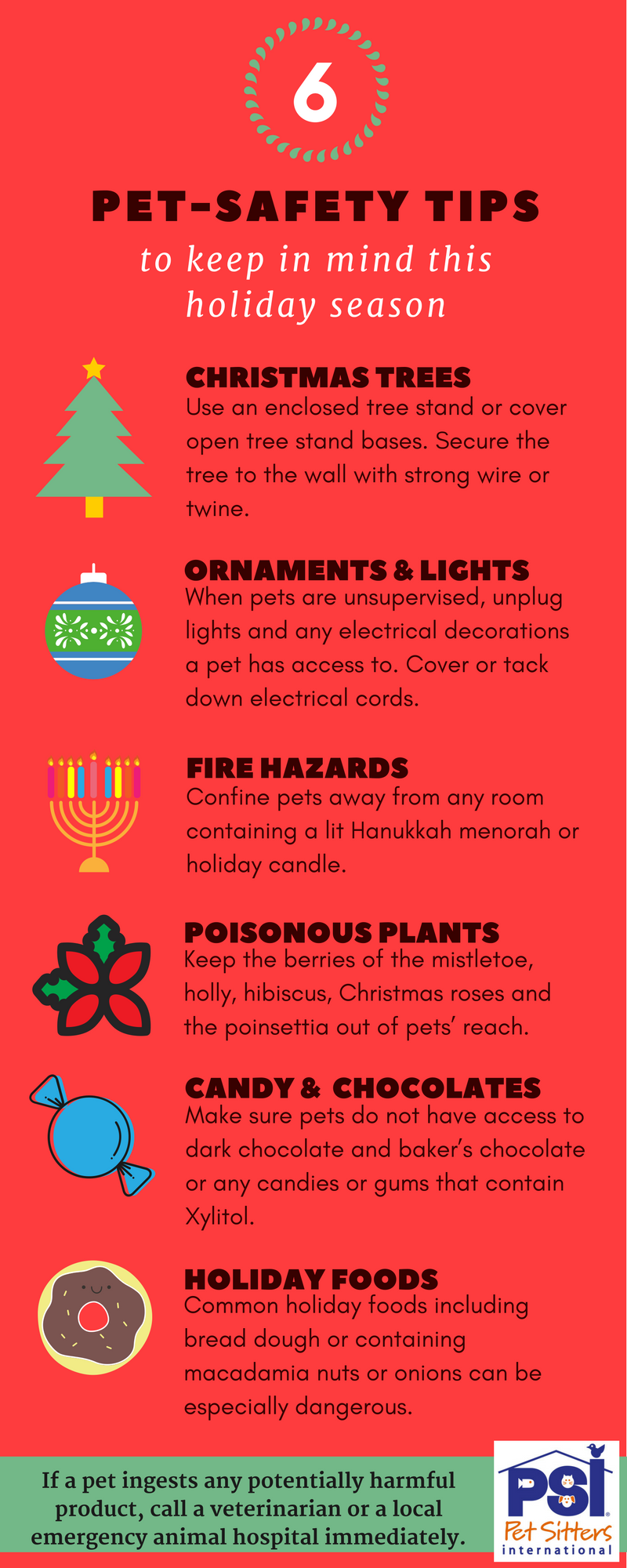 6 Holiday Season Pet Safety Tips