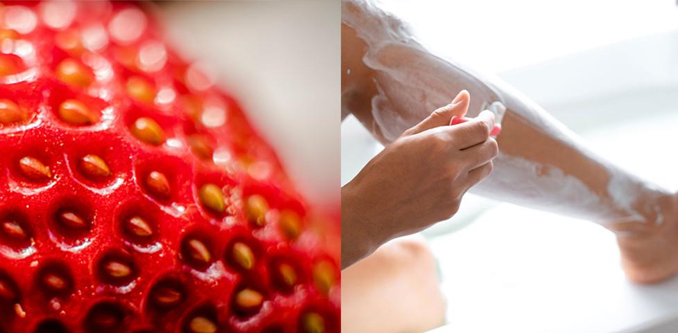 was tun gegen erdbeerbeine